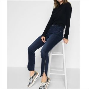 7FAM | Gwenevere Skinny Jeans With Zipper Ankle